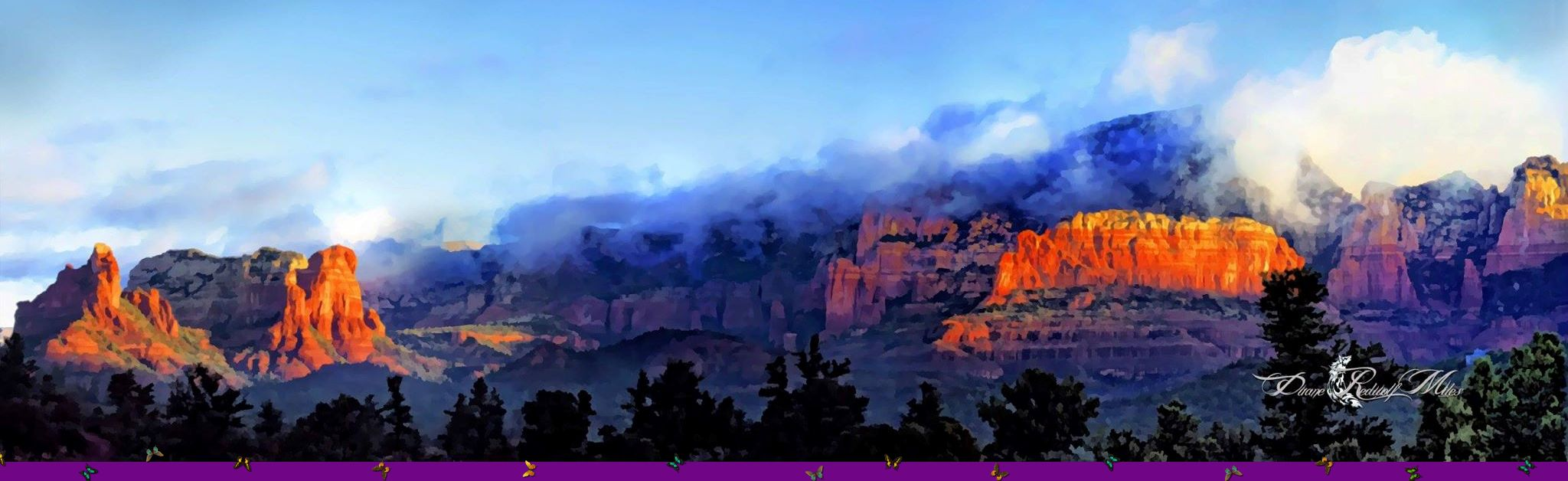 Oak Creek Canyon Sedona Arizona